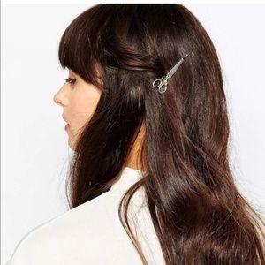 Scissors Crafty Hair Clip Bobby Pin Barette